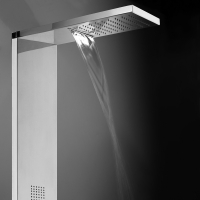 Rain and waterfall spray  showerhead
