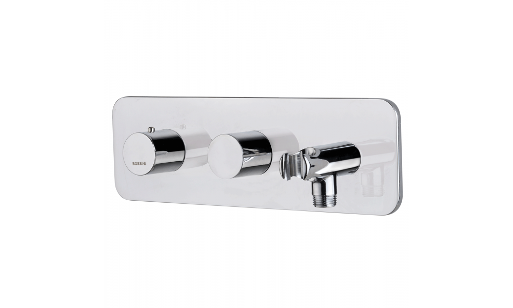 Thermostatic Mixer with 2 Outlets